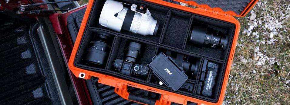 Kamera Cases og Kufferter