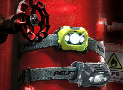 Peli ATEX Headlights Zone  0 og Zone 1
