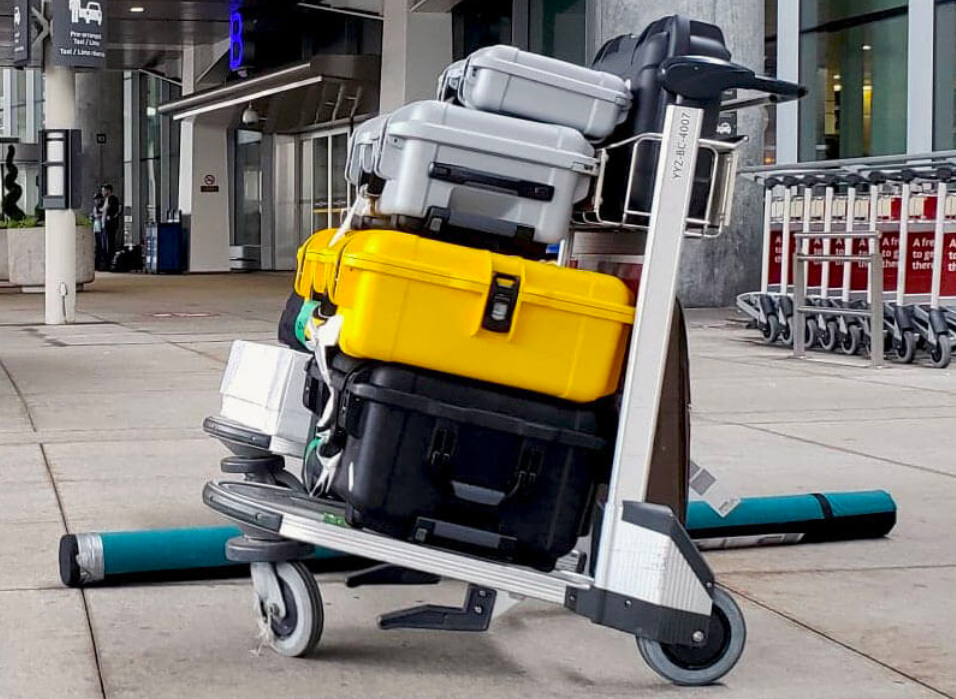 Bedste Check In Cases & Oversize baggage