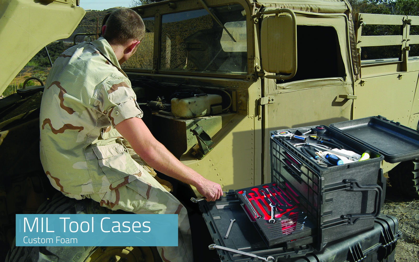 Military Tool Cases