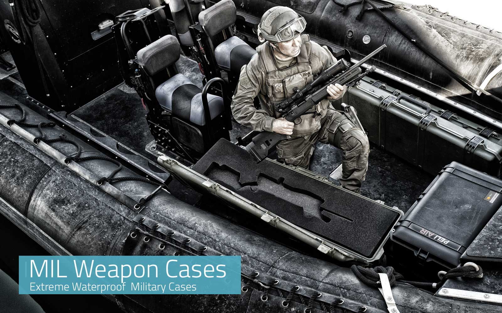 Military Weapon Cases