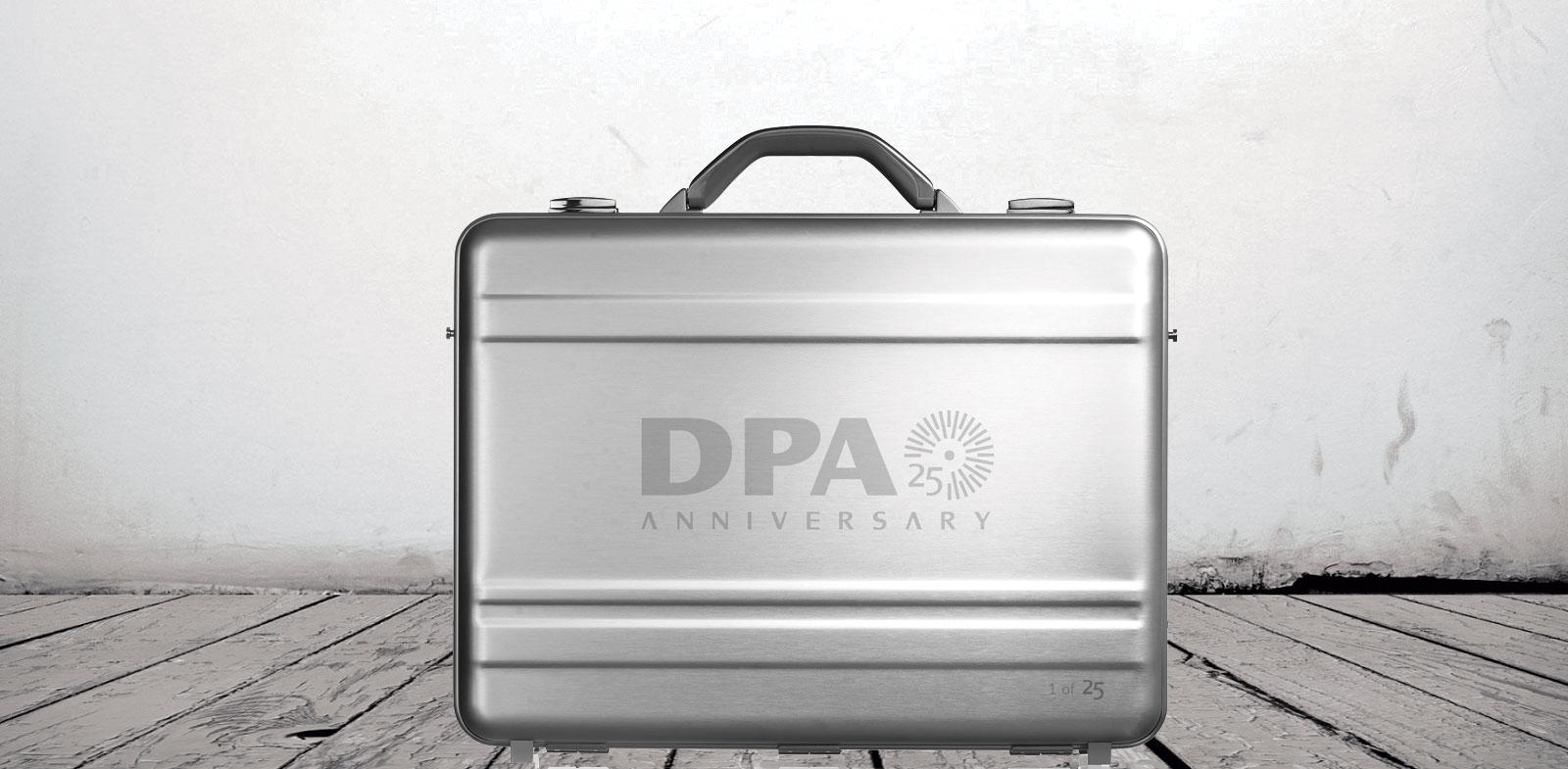 Demo case Aluminium laser engraved logo